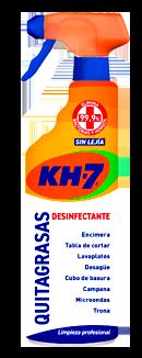 Pack KH-7 Quitagrasas Desinfectante