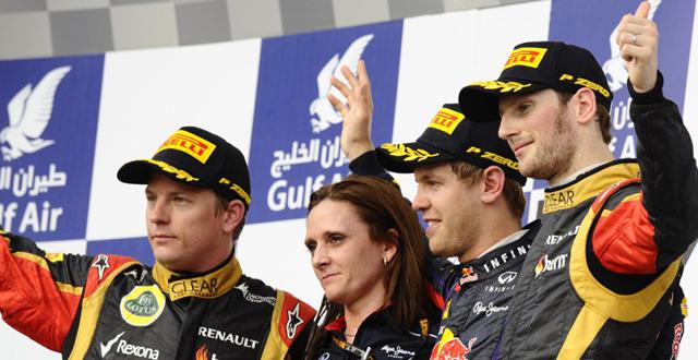 Vettel recupera el podium