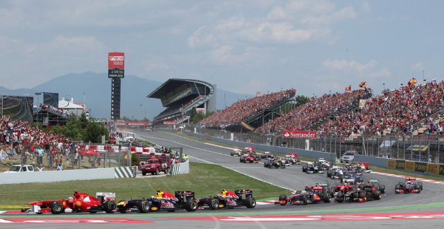 218.331 persones acudieron a la cita de la Fórmula 1 en Montmeló