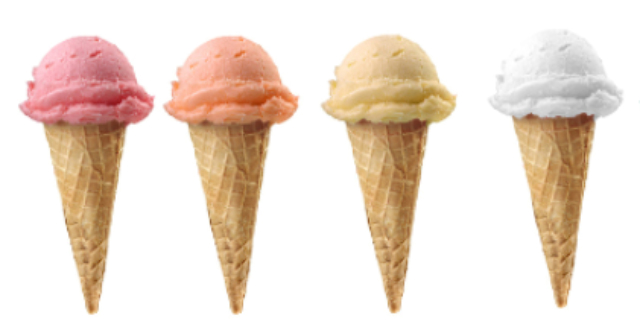 Disfruta de frescos helados de fruta en familia