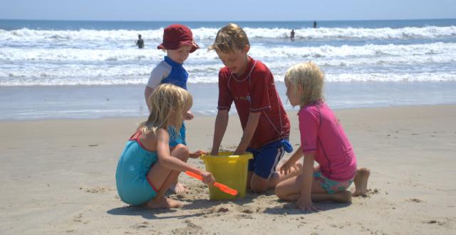 Pasa un día genial con tus hijos en la playa jugando a este sencillo juego