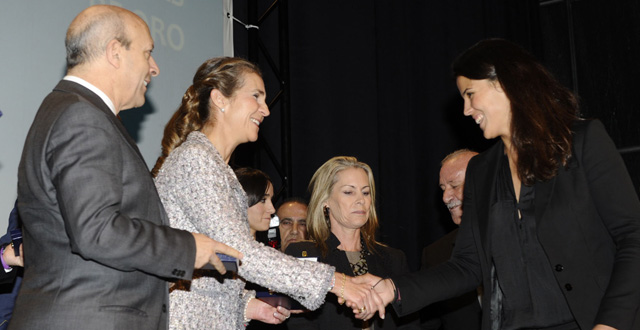 Laia Sanz ha recibido esta mañana en Madrid la Medalla de Oro de la Real Orden del Mérito Deportivo