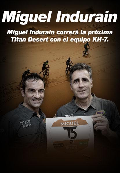 Miguel Indurain y KH-7
