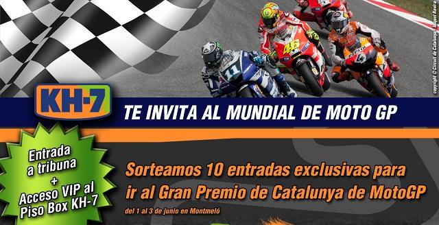¡KH-7 te invita al Mundial de MotoGP!