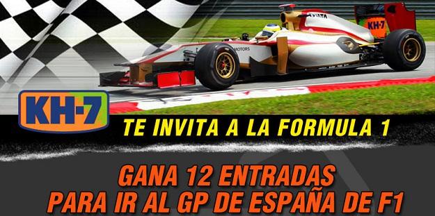 ¡KH7 y KH7 Sport te invitan a la Formula 1!