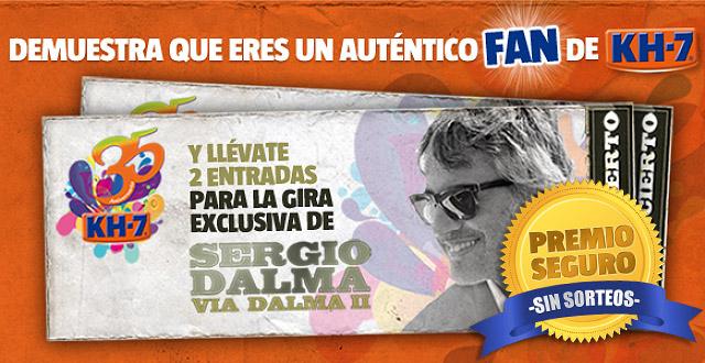 ¡Consigue dos entradas para los conciertos exclusivos de Sergio Dalma!
