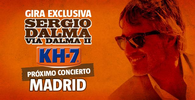 Próximo concierto… ¡Madrid!
