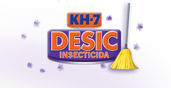 Con KH-7 Desic, limpieza y efecto insecticida en tu cocina