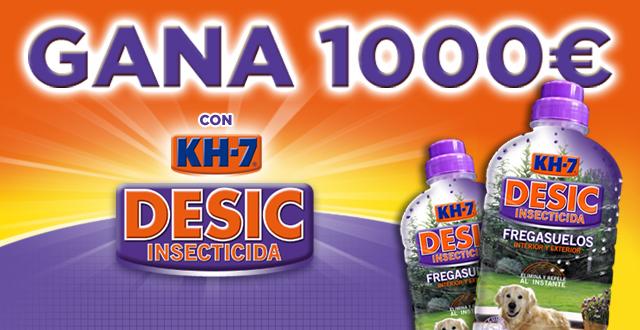 ¡Gana 1.000 euros con KH-7 DESIC!