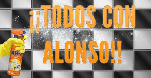 ¡Todos con Alonso!