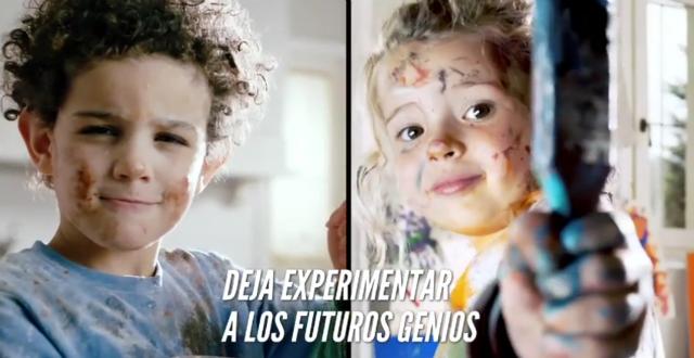 Descubre como potencian los padres la habilidades creativas y la experimentación de sus hijos