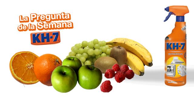 KH-7 con aroma a frutas