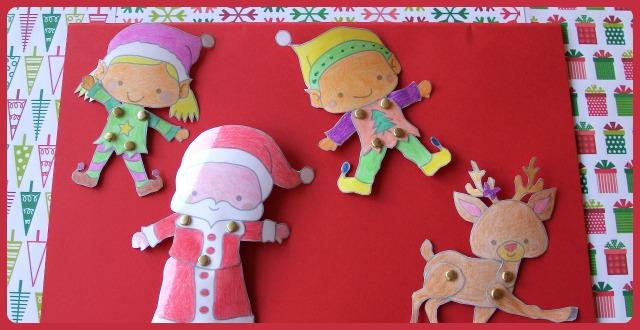 Recortables navideños