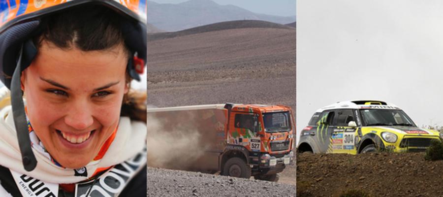 Dakar Etapa 8: Salta – Calama / Uyuni – Calama