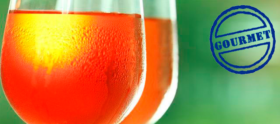 El vino rosado