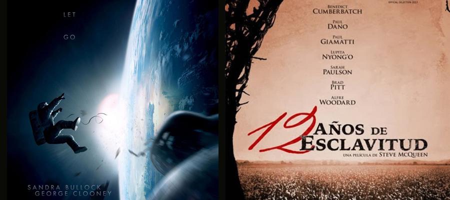 12 años de esclavitud y Gravity las grandes triunfadoras de los Óscars