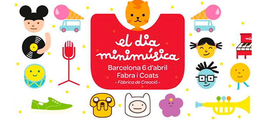 """""""El día minimúsica"""", el festival musical y creativo para las familias"""