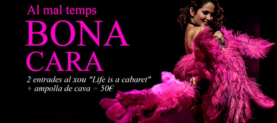 Life is a Cabaret, espectáculo burlesque en Barcelona