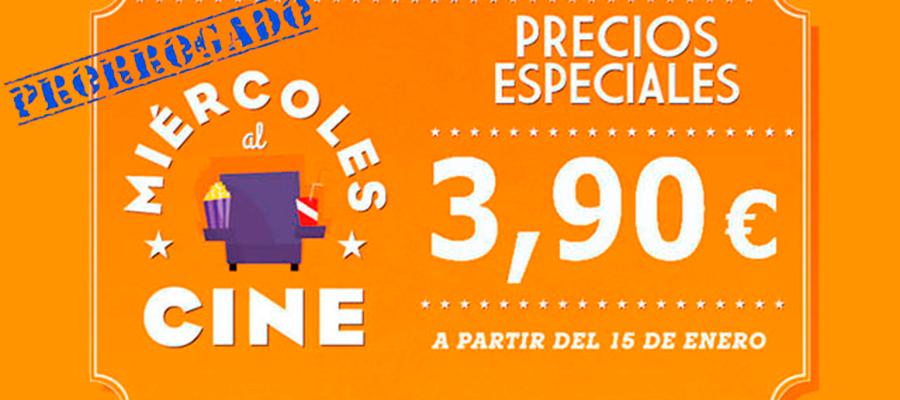 """Se prorrogan los """"miércoles al cine"""" hasta el 9 de Julio"""
