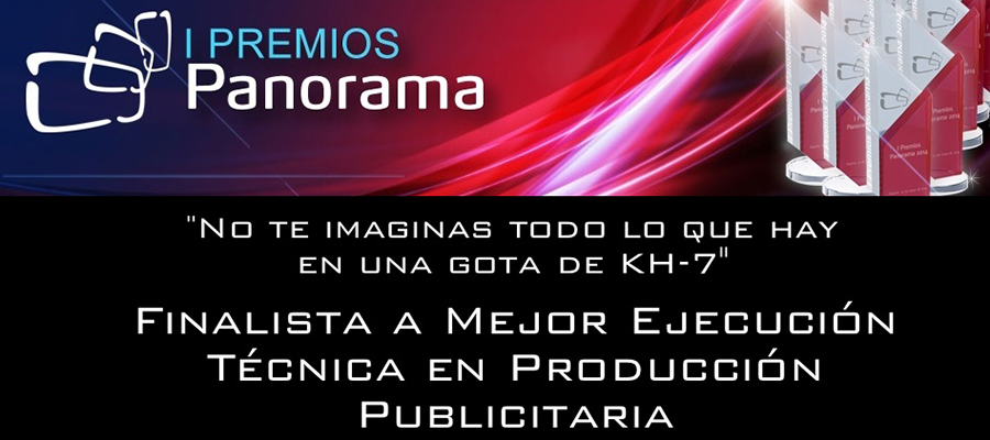 KH-7 finalista en los Premios Panorama Audiovisual