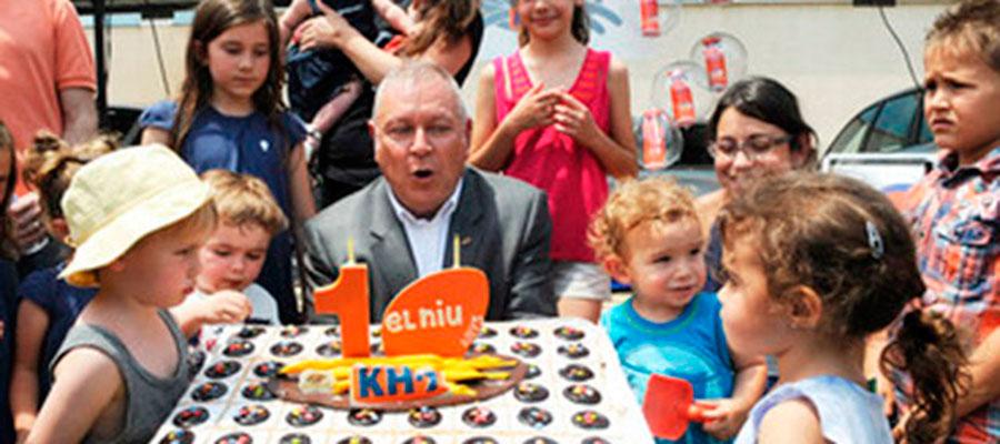 El jardín de infancia de KH Lloreda celebra su décimo aniversario