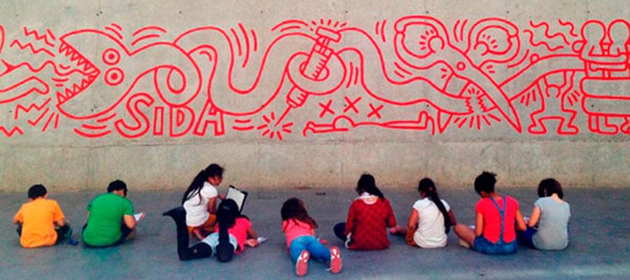 Las obras de arte toman el sol en el MACBA