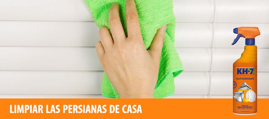 TipsKH7: limpiar las persianas de casa
