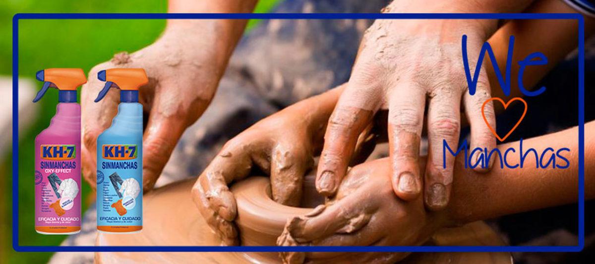 ¿Sabes cómo limpiar las manchas de barro?