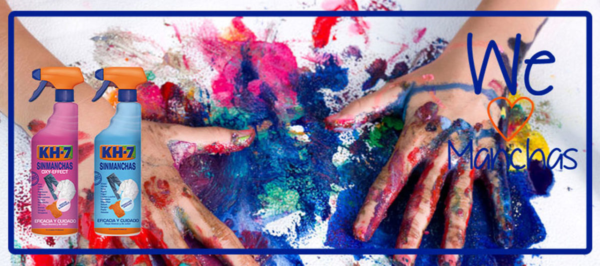 """Imagen post """"¿Cómo acabar con las manchas de pintura de tempera?"""""""