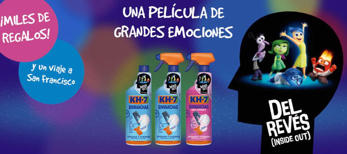 """Consigue miles de regalos con KH-7 y """"Del Revés"""""""