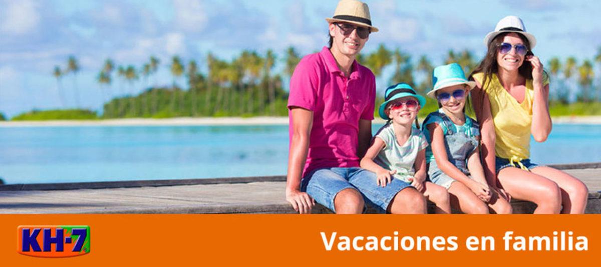 Vacaciones con KH-7 y en familia
