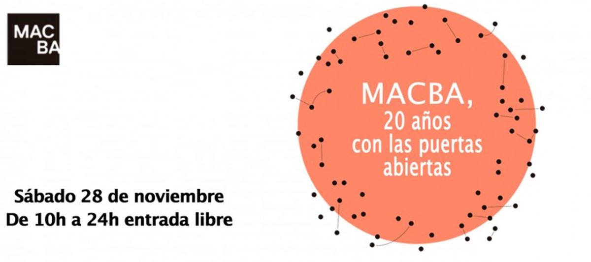 20 aniversario del MACBA