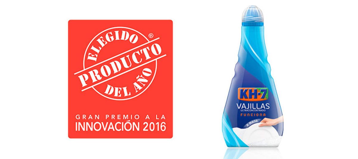 ¡KH7 Vajillas Producto del Año 2016!