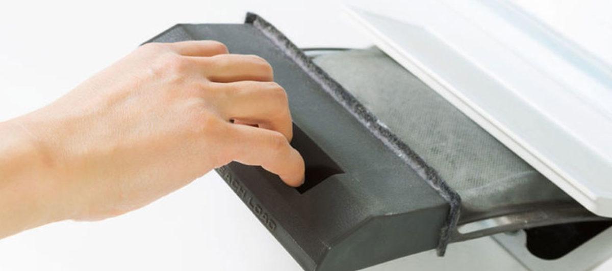 Limpiar el filtro de la lavadora con KH7