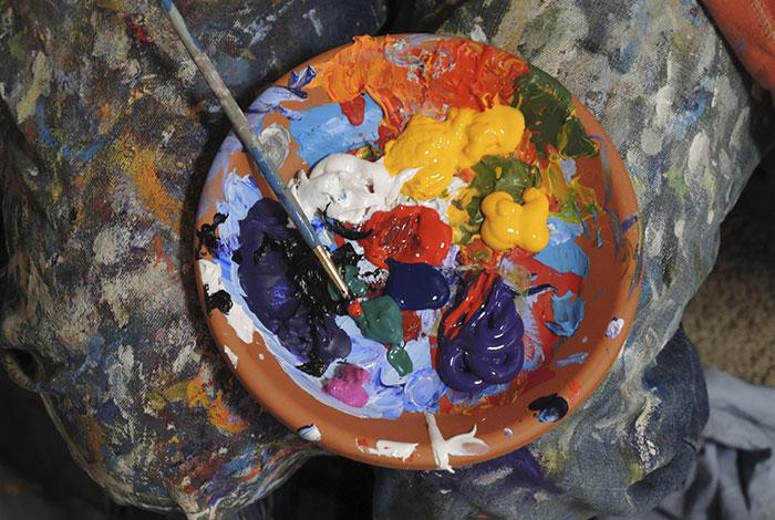 Buscador de Manchas: Manchas de Pintura Acrílica