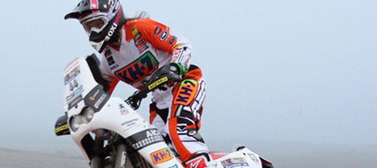 Laia Sanz gana su primer Dakar