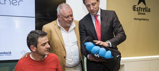 Isidre Esteve presenta Nubolo, la versión comercial del Cojín Inteligente