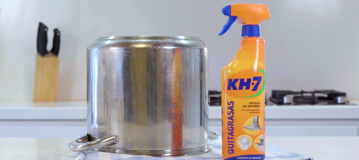 KH-7 no falla en la limpieza del menaje de tu cocina