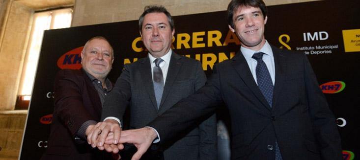 KH-7 renueva su patrocinio con la Carrera Nocturna del Guadalquivir